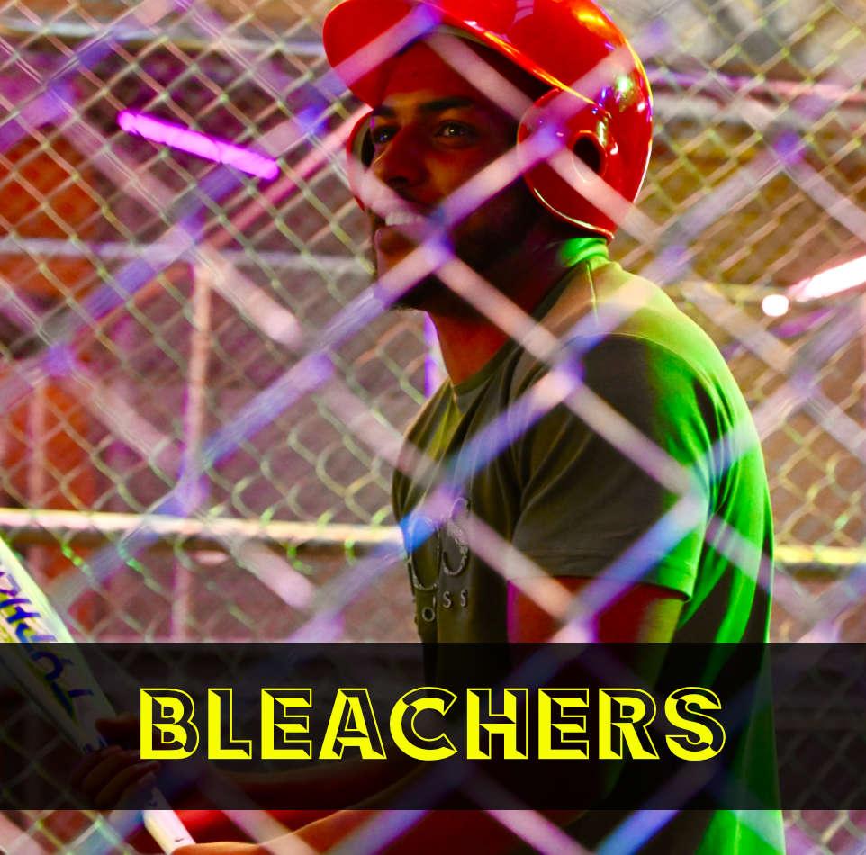 BLEACHERS BASEBALL BATTING CAGE